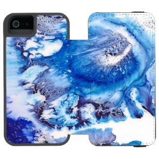 Methylene Blue Abstract Cell Incipio Watson™ iPhone 5 Wallet Case