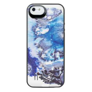 Methylene Blue Abstract iPhone SE/5/5s Battery Case