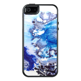 Methylene Blue Abstract OtterBox iPhone 5/5s/SE Case