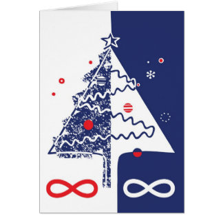 Metis Christmas Card - Michif, French, Englis