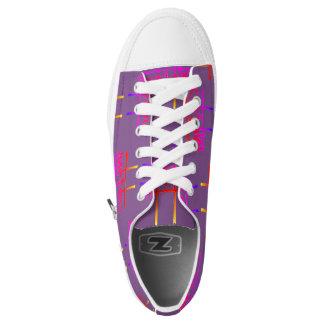 #metoo Designer Sneakers in purple by DAL