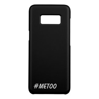#MeToo Hashtag Black and White Me Too Case-Mate Samsung Galaxy S8 Case