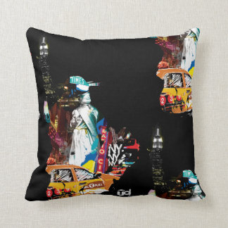 Metro New York City Cushion