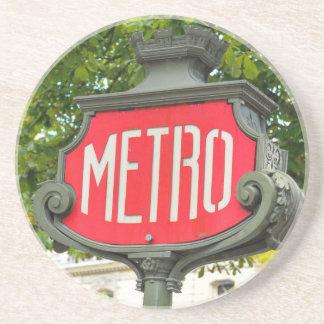 Metro Paris Beverage Coaster