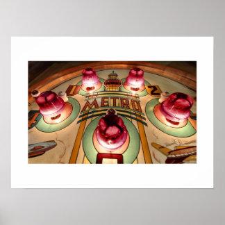 Metro pinball poster