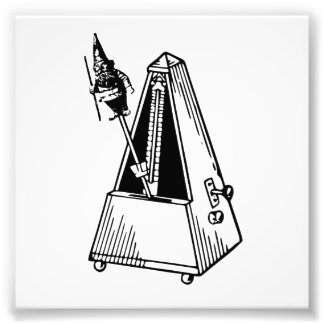 Metrognome Musical Metronome Photo Print
