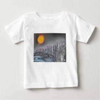 Metropolis at night baby T-Shirt