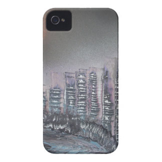 Metropolis at night iPhone 4 Case-Mate case