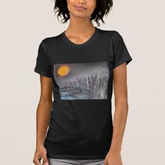 Metropolis at night T-Shirt
