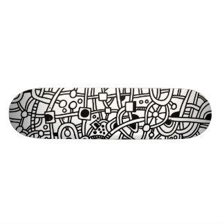 Metropolis II - On Wood Skate Decks