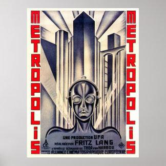 Metropolis Movie Poster, Fritz Lang 1927 Poster