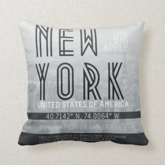 Metropolis New York Cushion