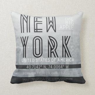 Metropolis New York Cushion