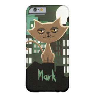 Metropolitan Alley Cat on Rooftop Barely There iPhone 6 Case