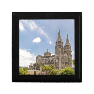 Metropolitan Cathedral Fortaleza Brazil Small Square Gift Box