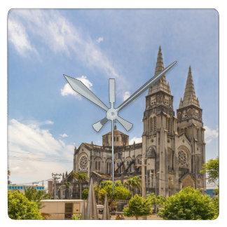 Metropolitan Cathedral Fortaleza Brazil Wallclock