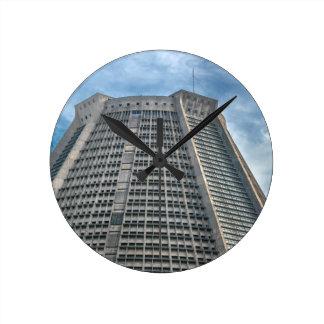 Metropolitan Cathedral Rio de Janeiro Brazil Round Clock