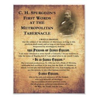 Metropolitan Tabernacle First Words Photo