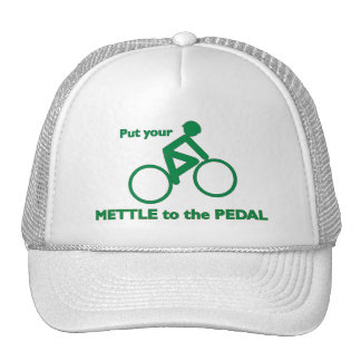 Mettle to the Pedal Cap