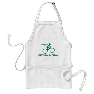 Mettle to the Pedal Standard Apron