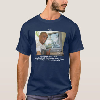 MeTV_Zazzle, WatchIt's All About ME-TV LIVEHost... T-Shirt