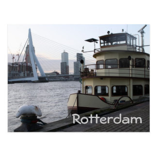 Meuse river, Rotterdam Postcard