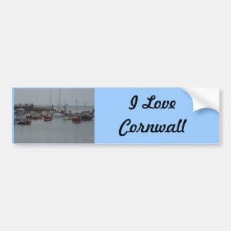 Mevagissey Harbour Bumper Sticker