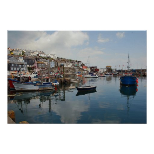 Mevagissey Reflections Posters