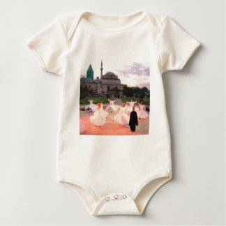 mevlana konya baby bodysuits