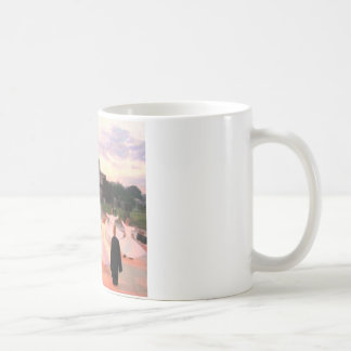 mevlana konya basic white mug