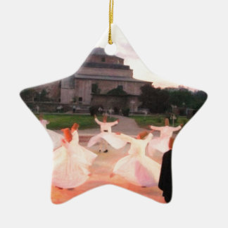 mevlana konya ceramic star decoration