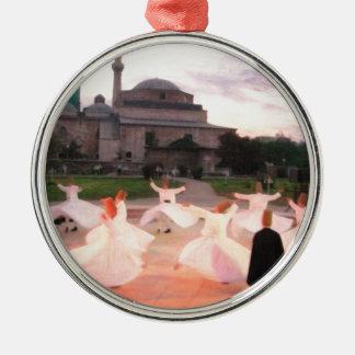 mevlana konya Silver-Colored round decoration