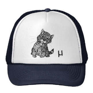 """Mew"" Trucker Hats"