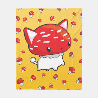 Mewshroom Blanket cute cat mushroom