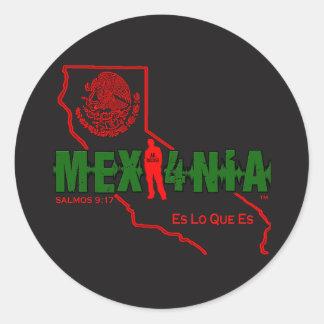 MEXI4NIA CLASSIC ROUND STICKER
