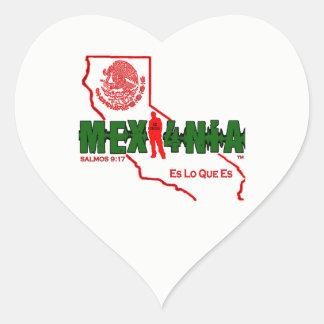 MEXI4NIA HEART STICKER