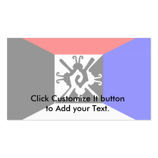 Mexica Movement, Colombia Political Business Card Templates