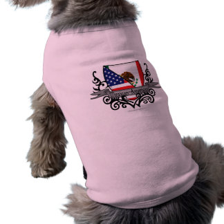 Mexican-American Shield Flag Doggie Tee