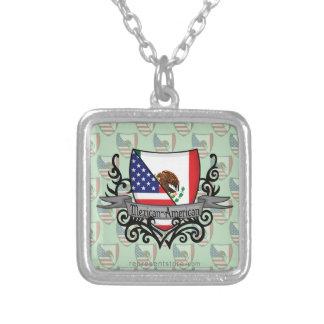 Mexican-American Shield Flag Custom Jewelry