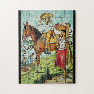 Mexican Art Decco Jigsaw Puzzle
