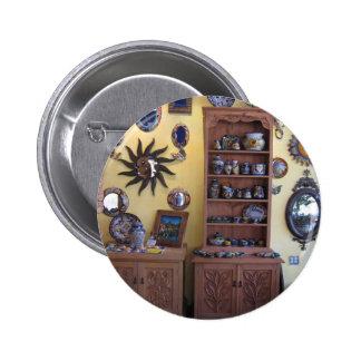 Mexican Artisan Furniture Pinback Button
