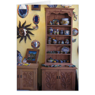 Mexican Artisan Furniture Greeting Cards