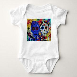 Mexican Artist Dia de los Muertos Baby Shirt