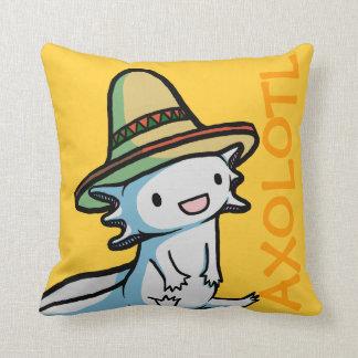 Mexican Axolotl Pillow Cushions