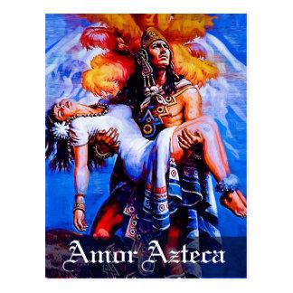 Mexican Aztec Legend Iztaccihuatl Popocatepetl Postcard