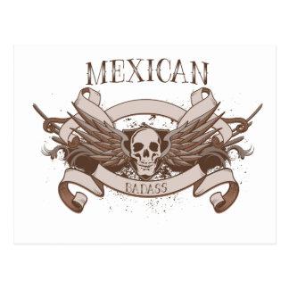 Mexican Badass Postcard