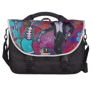 Mexican Bailar Mariachi Dancing Couple by prisarts Commuter Bags