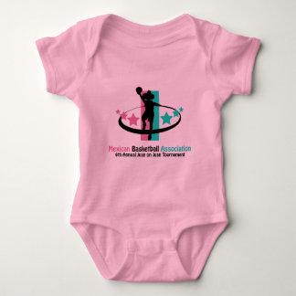 Mexican Basketball Association Baby Bodysuit