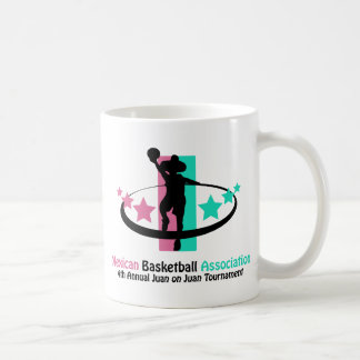 Mexican Basketball Association Basic White Mug