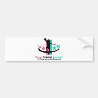 Mexican Basketball Association Bumper Sticker